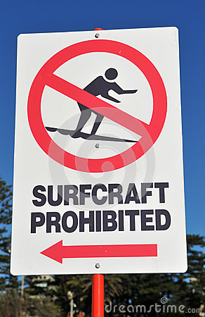Surfing Sign