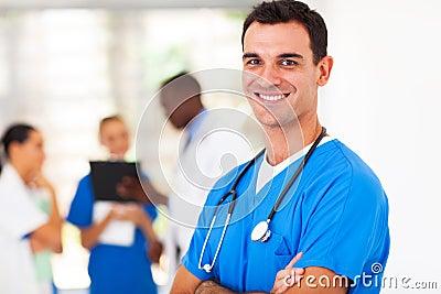 Surgeon in hospital
