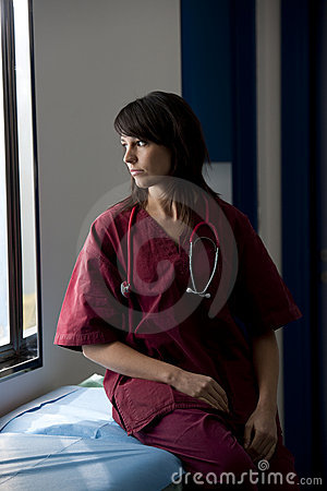 Surgeon Lost In Thoughts