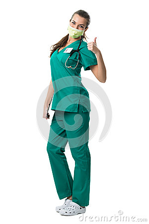 Free  Surgeon Show Success Royalty Free Stock Images - 38274459
