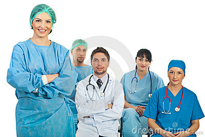 Surgeon woman teacher