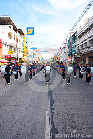 Surin Parade Marching Band V Editorial Image