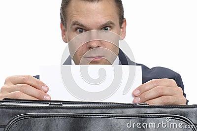 Surprise business correspondence