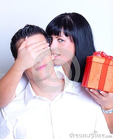 Surprise couple
