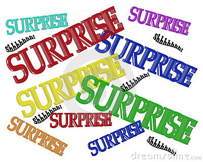 Surprise Party Birthday Invitation Stock Photos - Image: 10567333