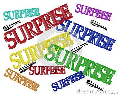 Surprise Party Birthday invitation