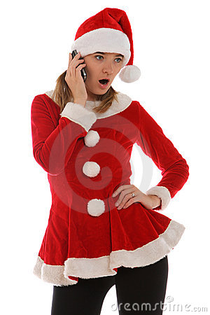 Surprise phone call from Santa