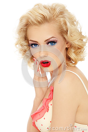 Free Surprised Blonde Royalty Free Stock Images - 26407769