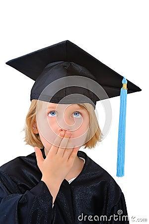 Surprised graduate student
