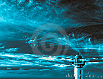 Surreal Lighthouse