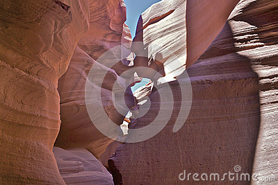 Surreal Lower Antelope Canyon Royalty Free Stock Images - Image: 26637249
