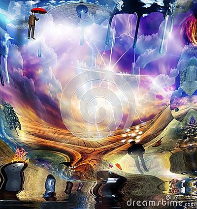 Free Surreal Melting Art Stock Images - 114314934
