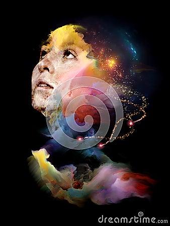 Free Surreal Portrait Stock Images - 85995504