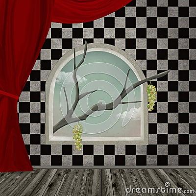Surreal room