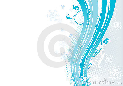 Surreal Snowflakes Design . Royalty Free Stock Photo - Image: 5938105