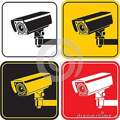 Free Surveillance Camera Stock Photos - 25964253