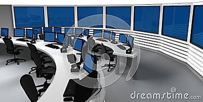 Surveillance control center