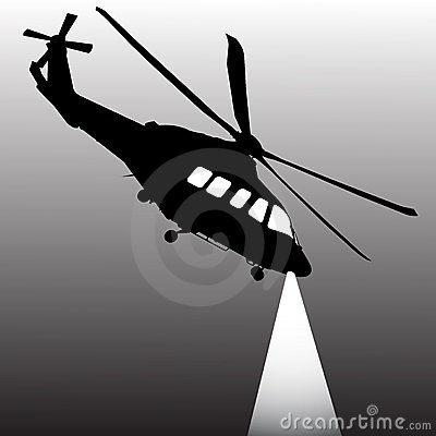 Surveillance helicopter