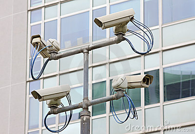 Surveillance security video camera