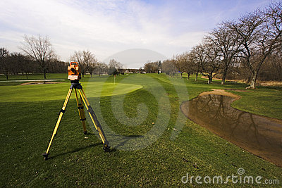 Surveying the Golf Course