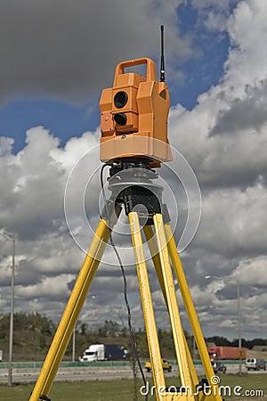 Surveying highway