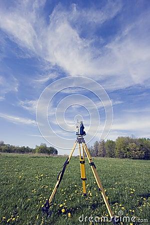 Surveying during spring time