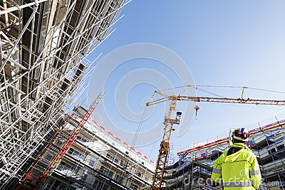 Surveyor, instrument and construction site