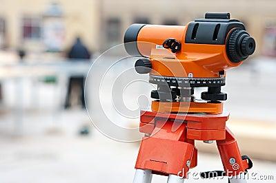 Surveyor levelling instrument