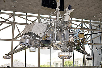 Surveyor spacecraft Editorial Image