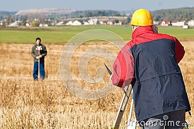 Surveyor theodolite works