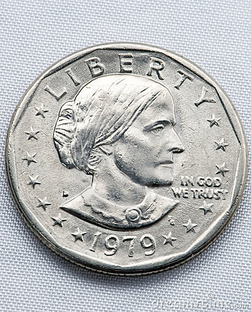 Free Susan B Anthony Front Stock Image - 7610861