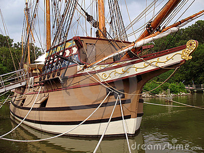 Susan Constant Sailing Ship
