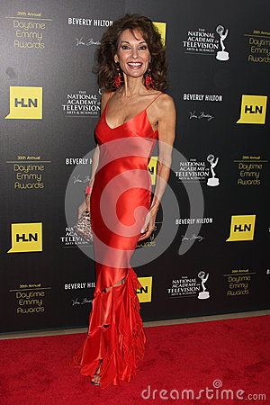 Susan Lucci arrives at the 2012 Daytime Emmy Awards Editorial Photo