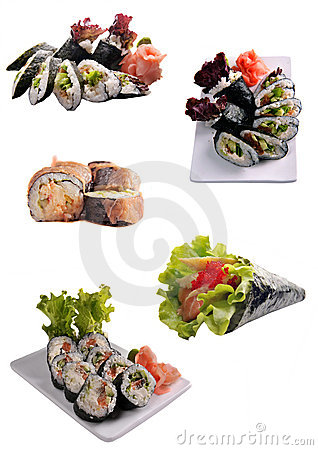 Free Sushi Royalty Free Stock Photo - 11566765
