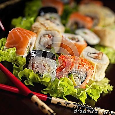 Free Sushi Royalty Free Stock Image - 12935636