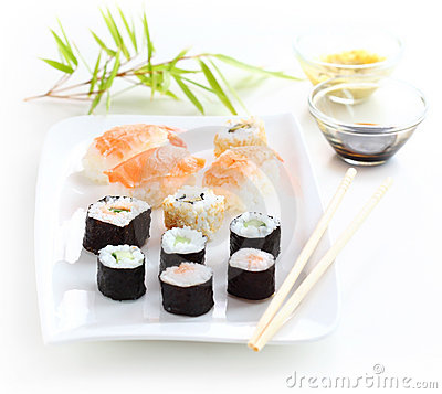 Free Sushi Royalty Free Stock Image - 20720416