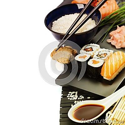 Free Sushi Royalty Free Stock Photography - 37967957