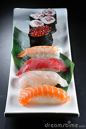 Free Sushi Royalty Free Stock Photography - 7686807