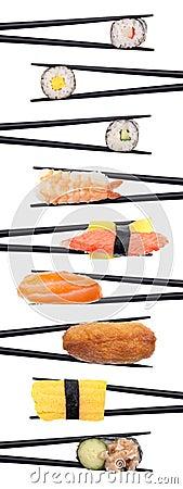 Sushi criss-cross