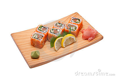Sushi different nations
