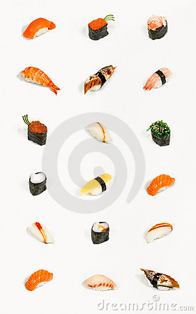 Free Sushi Isolated Stock Photo - 5378520
