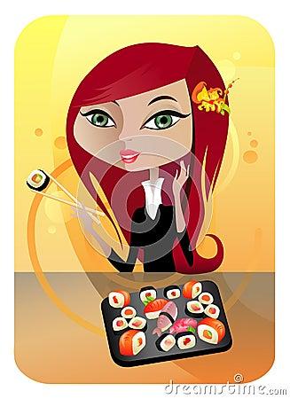 SUSHI (Japanese Cuisine)