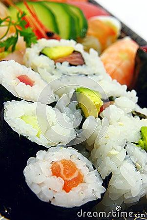 Free Sushi Meal Stock Photo - 19053740