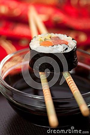Free Sushi Roll Royalty Free Stock Photo - 14480755