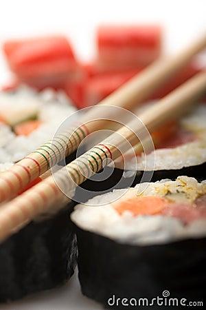 Free Sushi Roll Royalty Free Stock Photo - 14480785