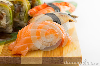Salmon Avocado Eel Sushi Roll Recipes — Dishmaps