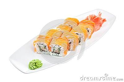 Sushi (Roll unagi maki syake)