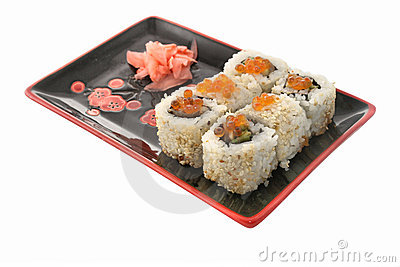 Sushi Rolls Stock Photo - Image: 9678930