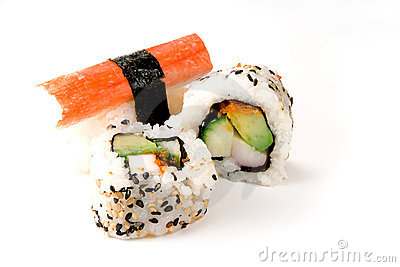 Sushi: Rolls and Crab