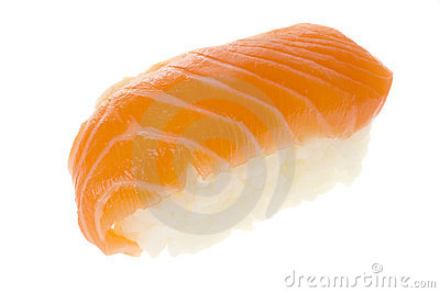 Sushi - Salmon Nigiri